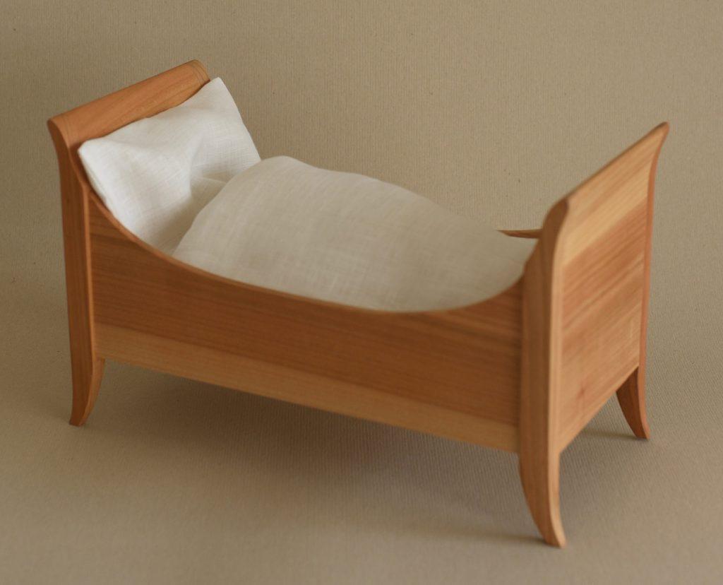 Biedermeier period bed